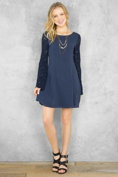 Clarence Lace Shift Dress