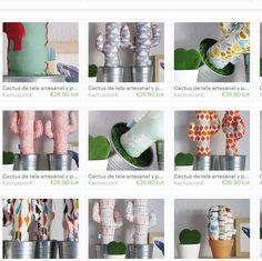 Los nuevos #modelos de la Colección Primavera 2016 de #cactusdetela ya están disponibles en la tienda online www.kactusconk.etsy.com  FELIZ VIERNES!  #cacti #cactus #tela #fabric #artesania #handmade #hechoamano #diy #deco #decoration #colgador