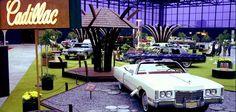 1971 caddy display at Chicago auto show.  SFREsource.com