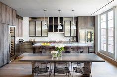 Luxury Apartment in New York, design, décor, interior, USA, New York, apartment, cozy, kitchen