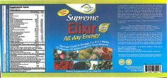 FDA Recall - Supreme Elixir, Kids Juice & Xtreme Fiber Detox