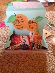 Lack of vitamin me small military care package
