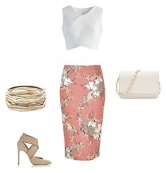 Untitled #5 by jazmineamill on Polyvore featuring polyvore, fashion, style, Chicwish, River Island, Lanvin, Kendra Scott and clothing