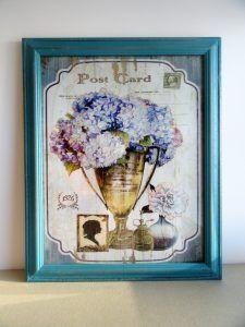 tablou, bucatarie, shabby chic, flowers, flori, gradina, decor, bucatarie