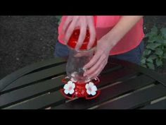 Watch this instructional video on how to assemble the Perky-Pet® Top Fill Glass Hummingbird Feeder. The Perky-Pet® Top Fill Glass Hummingbird Feeder allows y. Hummingbird Nectar, Glass Hummingbird Feeders, Humming Bird Feeders, How To Attract Hummingbirds, Breeze, Planting Flowers, Fill, Top, Crop Shirt