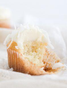... coconut cupcakes ...
