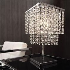 Buy Falling Stars Table Lamp Chrome online with free shipping from thegardengates.com