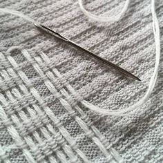 """59 Likes, 4 Comments - Amy Lawrence (@amylawrencedesigns) on Instagram: """"Getting my #weave on . . #knit #knittersofinstagram #cotton #wool"""""""