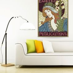Poster advertising Prangs Easter Publications, 1 (Giclee Art Print), The Fine Art Masters http://www.easterdepot.com/poster-advertising-prangs-easter-publications-1-giclee-art-print-the-fine-art-masters-2/ #easter  This stunning reproduction will be an eye-catching addition to any room. Printed in the USA. Gorgeous giclee canvas print using archival LUCIA EX pigment 12-color ink system Gorgeous giclee canvas print using archival LUCIA EX pigment 12-color ink system Artist grade canva..