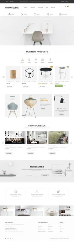 Buy Futurelife - eCommerce PSD Template by Pixel-Creative on ThemeForest. Description Futurelife – Ecommerce PSD Template is a uniquely ecommerce website template designed in Photoshop with a. Ux Design, Page Design, Layout Design, Graphic Design, Layout Web, Italian Bedroom Furniture, Cheap Furniture, Mirror Furniture, Baker Furniture