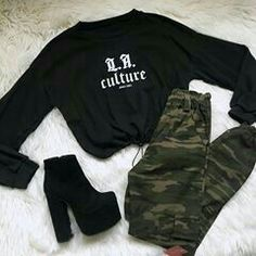 Women S Fashion Chain Crossword Key: 4086063850 Tumblr Outfits, Swag Outfits, Grunge Outfits, Fall Outfits, Girls Fashion Clothes, Teen Fashion Outfits, Retro Outfits, Cute Comfy Outfits, Stylish Outfits