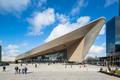 Rotterdam Centraal station - Rotterdam, Нидерланды - 2014 - Benthem Crouwel Architects