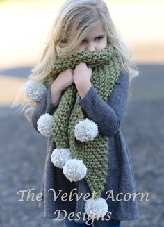 Ravelry: Drift Scarf pattern by Heidi May Knitting For Kids, Baby Knitting, Crochet Baby, Knit Crochet, Knitted Shawls, Crochet Scarves, Heidi May, Velvet Acorn, Knitting Patterns