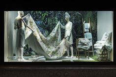 Check out more pictures of our #YvesDelorme #floral #window in Harrods! #ChelseaFlowerShow #RHSChelsea #ChelseaInBloom #Ailleurs #EauDouce #SS2015 #Londonwindows #Harrodsflowers #flowers #LondonStore #RHSchelseaflowershow