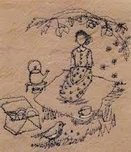 Resultado de imagem para michelle holmes betty embroidery