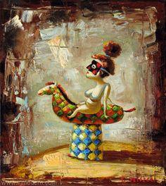 Woman by Taras Plishch www.INMODERN.com