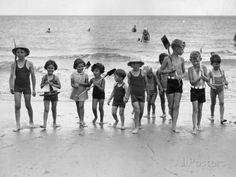 Beach Invasion Photographic Print