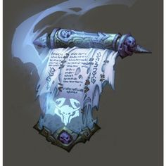 Cool looking scroll from darksiders