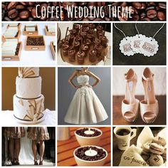 Here's a unique theme for a wedding - coffee? #coffee #wedding theme #2013 wedding themes #mydigitalwedding
