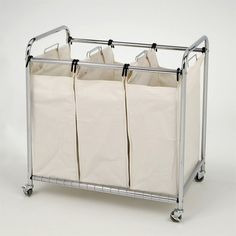 Shop Vancouver Classics  SHE16166 Chrome 3-Bag Laundry Sorter at Lowe's Canada. Find our selection of hampers at the lowest price guaranteed with price match + 10% off.