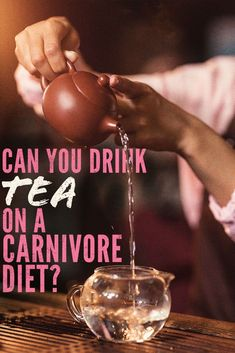 What's up with tea when you go on an all meat diet?  Is it allowed?  Is it carnivore diet approved?  Well, technically no but a lot of all meat dieters still drink it.  We give the pros and cons to help you make the decision.  #tea #herbal #caffeine #carnivorediet #carnivore #diet #plan #weightloss #keto #ketosis #ketogenic #lowcarb #drinks #sugarfree Meat Diet, Diet Food List, Diet Tips, Zero Carb Diet, No Carb Diets, Electrolyte Drink, Mental Health Problems, Easy Diets, Low Cholesterol