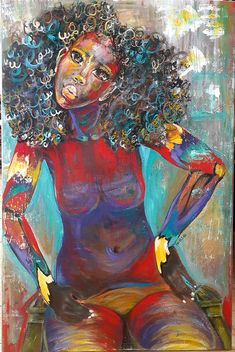 Take off the layers of pretentiousness and fear, and live daringly in your truth. The love you seek is within loving who and what you are. Abstract Portrait Painting, Abstract Art, Coloured Girls, African American Art, Humble Abode, Original Art, Layers, Live, Color