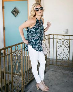 """5,029 Likes, 73 Comments - Stitch Fix (@stitchfix) on Instagram: """"Just add sunnies. 🕶 Show off your shoulders and start shedding your layers like @onesmallblonde…"""""""