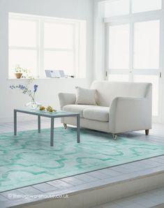 Eternity Green Rug. Tile Living Room ...