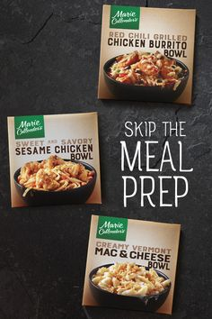 Any one of NEW Marie Callender's bowls is sure to put you in a good mood. Choose from indulgent flavors like Creamy Vermont Mac & Cheese and Sweet & Savory Sesame Chicken. Or go with a hearty classic like Tender Ginger Beef & Broccoli or Red Chili Grilled Quick Keto Breakfast, Breakfast Recipes, Breakfast Ideas, Gourmet Recipes, Low Carb Recipes, Low Carb Appetizers, Appetizer Recipes, Sugar Free Brownies, Brownie Recipes