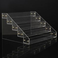 5 Tiers 40 Bottles Clear Acrylic Nail Polish Detachable Cosmetic Display Stand Rack Organizer is on sale, buy 5 Tiers 40 Bottles Clear Acrylic Nail Polish Detachable Cosmetic Display Stand Rack Organizer now. Window Display Design, Shoe Display, Candy Display, Display Cases, Cosmetics Display Stand, Cosmetic Display, Tienda Chocolate, Clear Acrylic Nails, Essential Oil Storage