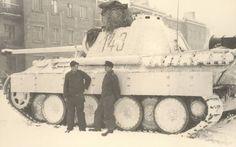 PzKpfw V Panther Snow Cat!