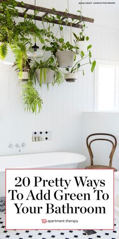 Here are 20 pretty ways to add green to your bathroom. #green #greenideas #greenbathroom #bathroomideas #bathroomcolors #bathroomdecor #bathroomdecorideas #greencolorpalette #greenpaintcolors