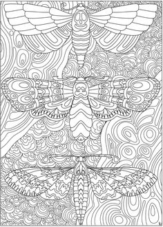 Welcome to Dover Publications - CH Eerie Entangled Art Dover Coloring Pages, Blank Coloring Pages, Abstract Coloring Pages, Pattern Coloring Pages, Printable Adult Coloring Pages, Animal Coloring Pages, Mandala Coloring, Coloring Sheets, Coloring Books
