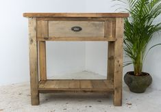 Rustic Console Table - large