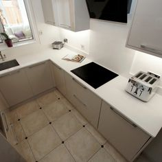 Kitchen of the week… Located in Great Amwell, Hertfordshire, showcasing the Bianco Puro - Rock and Co Granite Ltd White Worktop, Tile Floor, Luxury Kitchens, Amazing Bathrooms, Flooring, Bathroom Flooring, Bathroom Decor, Ceramic Tile Floor Bathroom, Tile Bathroom