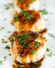 Caramelized Pan Seared Scallops | Recipes