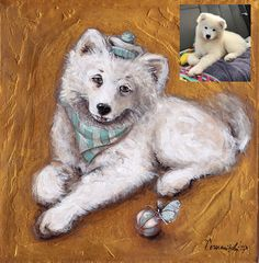 Dog Portrait Dog Painting Custom Pet Portraits from Photo