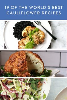 19 Of The World's Best Cauliflower Recipes via @PureWow