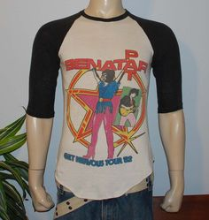 pat benatar 1982 loved these old concert  t-shirts