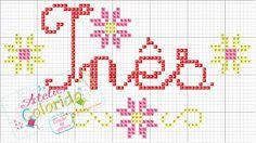 Atelier Colorido PX: Nomes - Inês!
