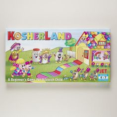 One of my favorite discoveries at WorldMarket.com: Kosherland Game
