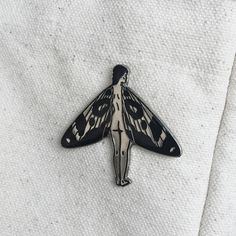 Image of 'BY NIGHT' Pin collab with Maddy Young