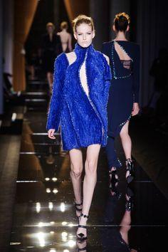 #BLUE   #Versace Fall 2013