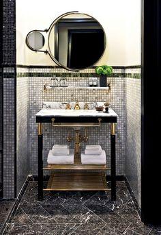 Art Deco? + Preto & Dourado