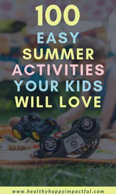 100 cheap and easy summer activities for kids and toddlers at home! Is mama going crazy this summer? Use these things to do to bring cheap and free fun to your family! There are water activities, crafts, ideas for outside etc. Lots of ideas for children! Summer Fun For Kids, Summer Activities For Kids, Family Activities, Preschool Activities, Enjoy Summer, Kids Fun, Water Activities, Happy Mom, Free Fun