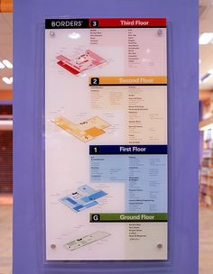 Borders International Launch by Josephine Chen, via Behance