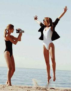 on location. swimwear. ocean. product.