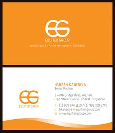 Business Card Front Back