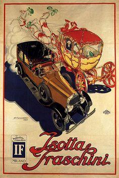Isotta Fraschini automobiles