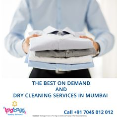 Looking for quality dry cleaning and laundry services?  Your search ends with @TingTongg  Here's why - https://tingtongg.wordpress.com/2017/03/29/the-best-on-demand-and-dry-cleaning-services-in-mumbai/